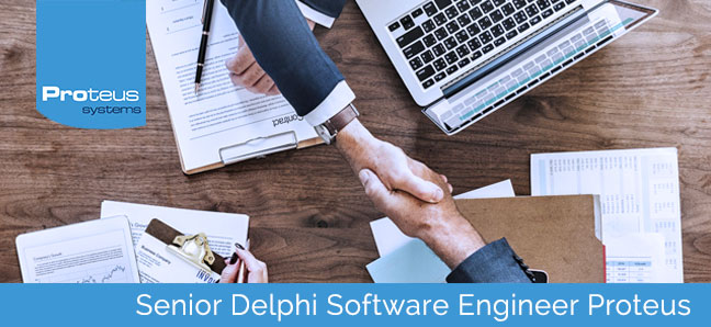 Vacature Senior Delphi Software Engineer Proteus Systems